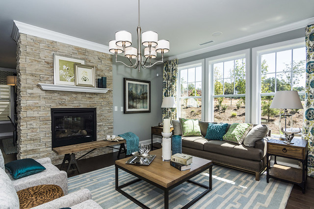 Easy tips on how to decorate an open floor plan trolltalk for How to decorate an open floor plan